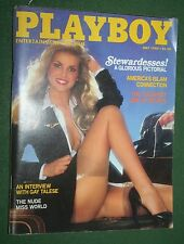 Playboy May 1980 Nude Miss World Stewardess Martha Thomsen Gay Talese interview