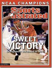 April 14, 2003 Carmelo Anthony, Syracuse Orangemen Sports Illustrated A
