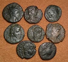 LOT OF ROMAN COINS (8 PIECES) MONEDAS ROMANAS