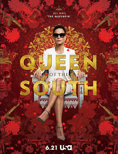 QUEEN OF THE SOUTH(LA REYNA DEL SUR)1ra temporada 4 dvd's 13 cap.BAJADA DE INTER