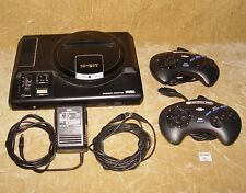 VINTAGE SEGA MEGA DRIVE CONSOLE COMPLETE READY TO USE TESTED WORKING PAL VERSION