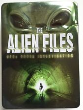 THE ALIEN FILES - UFOs UNDER INVESTIGATION - 5 DVD BOX SET  - IN TIN BOX