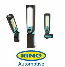 Ring COB LED Rechargeable Inspection Lamp Cordless 360° Twist Magnetic + Torch