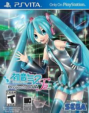 Hatsune Miku: Project Diva F 2nd -(Sony PlayStation Vita) PS VITA *NEW*