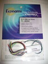 Soundtraxx Econami ECO-200 Diesel  NEW !!  882002 Bob The Train Guy