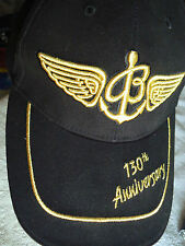 BREITLING  CAP-'130TH ANNIVERSAY'-BLACK-NOT FOR PUBLIC SALE-ONLY WITH PURCHASE..