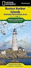 National Geographic Trails Illustrated MA Boston Harbor Islands Natl Rec Map 265