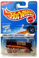 1996 Hot Wheels #370 First Edition #5 Rail Rodder collect the coolest card