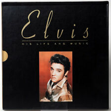 Elvis Presley - His Life And Music 4-CD LIMITED EDITION BOX SET W/ 176 PAGE BOOK