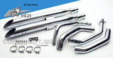 Silvertail K02 Auspuff exhaust Honda VT 600 C Shadow 88-00 PC21 NEW