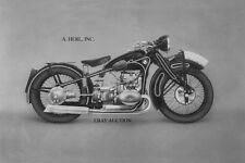 BMW R16 750cc 1934 - motorcycle racing photo photograph