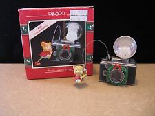 "1990 Enesco Christmas Ornament ""HERE'S LOOKING AT YOU"" Mouse with Camera"