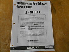 Used Suzuki Assy & Prep Manual 00 LT-F300FKI 99505-01081-03E