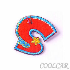 DIY Embroidered Motif Cloth Applique Iron On Patch Sew Clothing Decorations #S