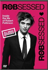 ROBSESSED ROBERT PATTINSON NEW DVD MOVIE FILM EDWARD CULLEN,TWILIGHT,NEW MOON