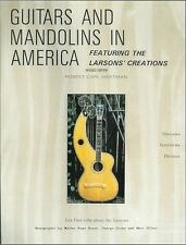 Larsons Brothers/Maurer Guitar book,Guitars & Mandos, Revised Edition, 1988 Pub.
