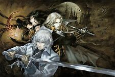 Castlevania Harmony of Despair  - Wall Poster ( 30 in x 20 in ) Fast Shipping