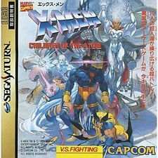 X-men Children of the Atom SEGA Saturn SS Import Japan