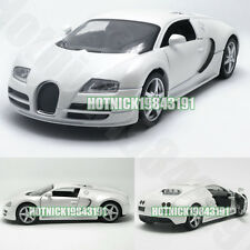New Bugatti Veyron Limited Edition 1:24 Diecast Alloy Model Car White