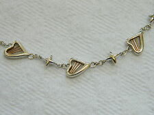 Clogau Silver & 9ct Welsh Gold Heartstrings Bracelet (16cm) RRP £119.00