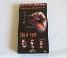 Madonna - Body of Evidence (VHS, 1993, Unrated)