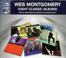Wes Montgomery EIGHT (8) CLASSIC ALBUMS Trio INCREDIBLE JAZZ GUITAR New 4 CD