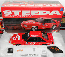1993 Ford Mustang Steeda Cobra Red #47 GMP 1:18 Fox Diecast (Car/Box Only)