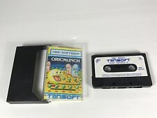 GAMING JEUX VIDEO VINTAGE ORIC ATMOS ORICMUNCH STYLE PAC MAN