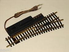 FLEISCHMANN ( 1724 R ) AIGUILLAGE ELECTRIQUE A DROITE RAILS EN LAITON  HO