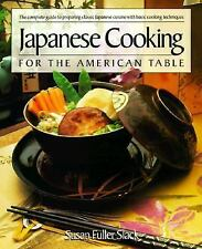 Japanese Cooking for the American Table