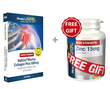 SS NatiCol Marine Collagen Plus 500mg 120 Tabs + FREE GIFT Zinc 15mg 60 Tablets