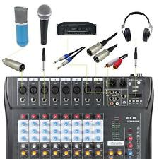 CT80S-USB 8 Channel Professional Live Studio Audio Mixer Mixing Console I7Y6