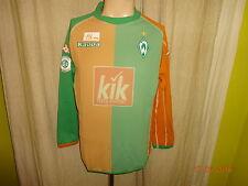 """Werder Bremen Kappa Langarm U23 Matchworn Trikot 2005/06 """"KIK"""" + Nr.6 Gr.L- XL"""