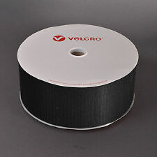 VELCRO® 100mm Sew on Tape Black, Both Hook & Loop IN ORDER / METRE, Horse Rugs!