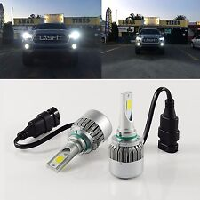 LASFIT 9005 HB3 LED Headlight Bulb COB Conversion Kit Bright High Beam 6000K 72W