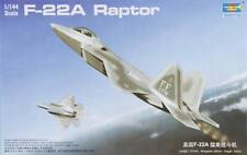 NEW Trumpeter 1/144 F-22A Raptor Jet Fighter 01317
