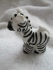 New! Fisher Price Little People MALE ZEBRA ARK Zoo w/ Tactile Stripes 2007 Rare