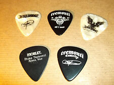 MARK TREMONTI - 5 X GUITAR PICKS RARE COLLECTION - ALTER BRIDGE - TREMONTI -