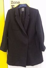 GAP Men's Grey Wool Coat Size Large
