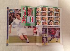 Panini 19984 98 France WC World Cup GUERIN SPORTIVO Magazine Iran Sticker Sheet
