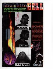 STRAIGHT TO HELL TOURBOOK  SIGNED EDITION  Hart D. Fisher  & Joe Monks     FVF