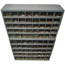 Grade 8 USS Assortment Nut Bolt Washer Two 40 Hole Metal Storage Bins 3500 Piece