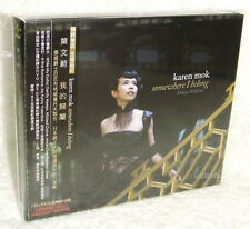 Karen Mok Somewhere I Belong Taiwan Ltd CD+DVD Asia Limited Edition