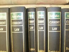 Australian Current Law Set - Professional - Suit Lawyer Bookcase Display