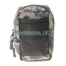 Utility Small Molle Waist Belt Bag Outdoor Hiking Hunting Phone Pouch - ACU