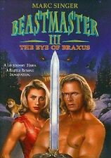 Beastmaster 3 III: The Eye of Braxus DVD (1996) Marc Singer