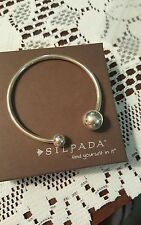 Silpada Sterling Silver HAVE A BALL Cuff Bracelet B2895