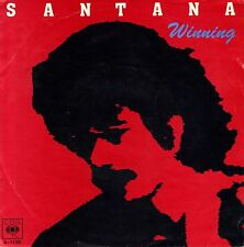 "7"" Santana - Winning // Dutch 1981"