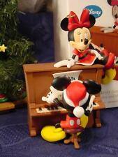 NEW 2012 DISNEY HALLMARK A Merry Serenade MICKEY MINNIE Musical PIANO ORNAMENT