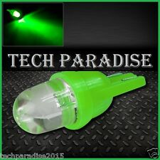 100x Ampoule T10 / W5W / W3W LED Bulb Vert Green veilleuse lampe light 12V Auto
